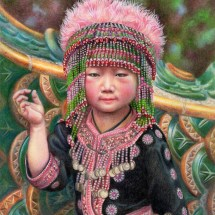 thai-tribal-girl-sm-veronica-winters-colored-pencil