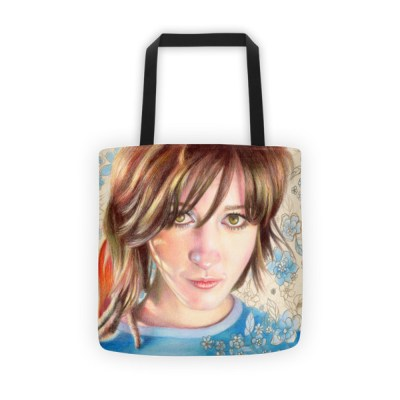 Tote bags for school: Out of the blue