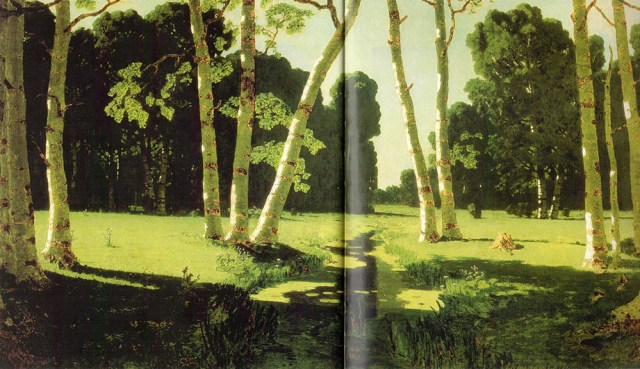 kuindzhi birch grove 1879