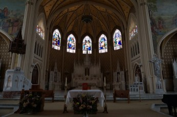 The Sacred Heart Conventual Chapel of Our Lady of the Lake Convent Center ©Veronica Markland Photography