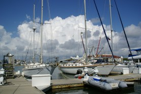 Clouds and Marina