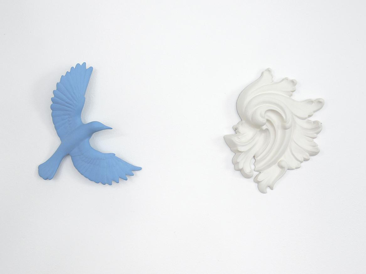 Porcelain pieces, Veronica Wilton