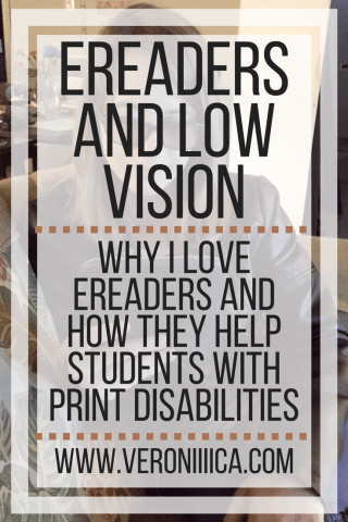 eReaders and Low Vision