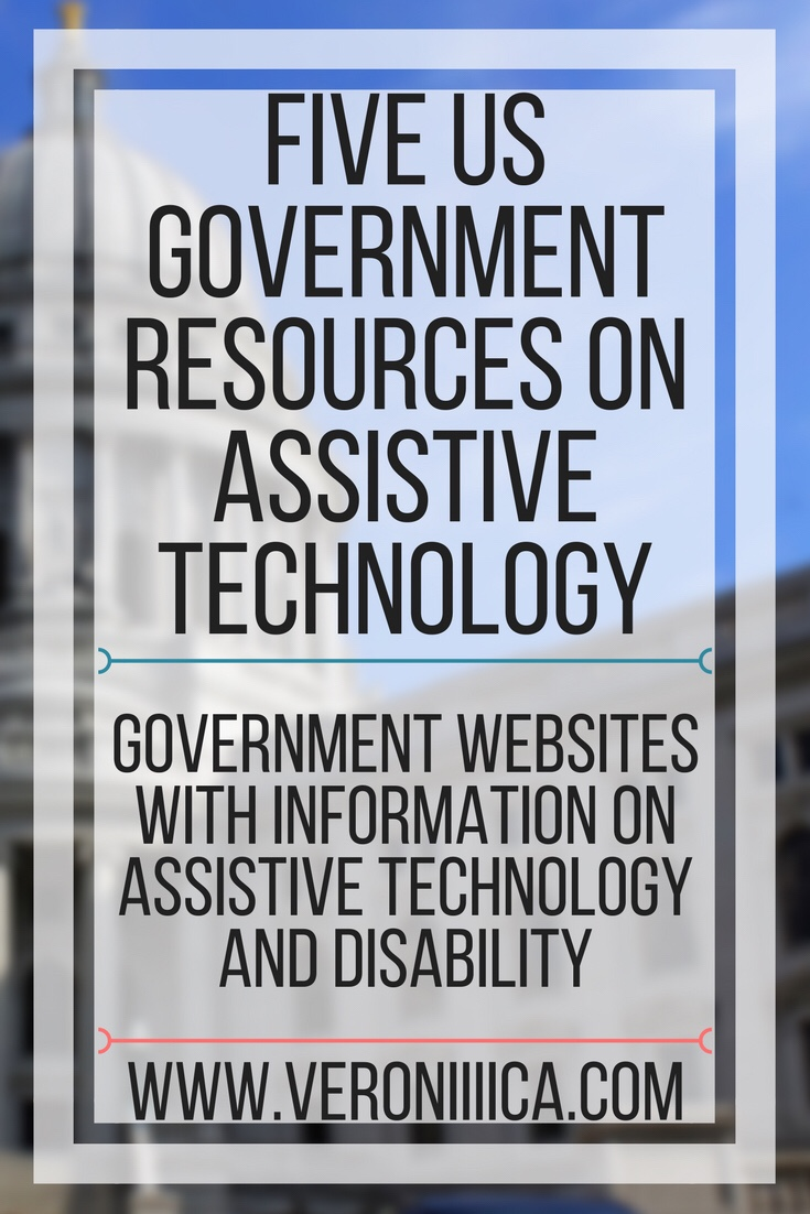 Five government websites with resources on assistive technology and disability
