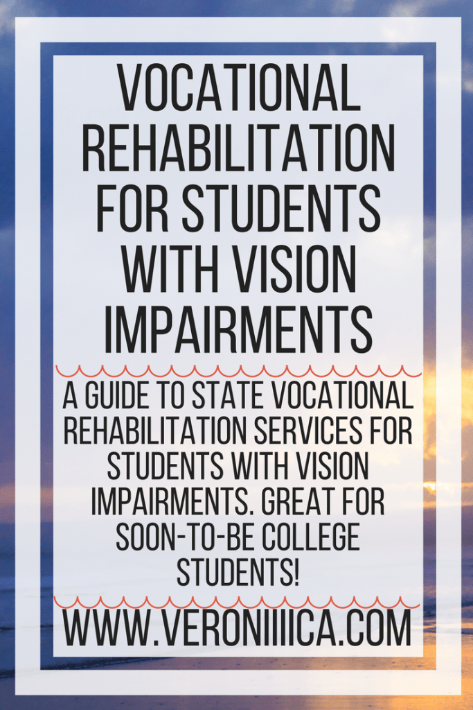 A guide to state vocational rehabilitation services for students with vision impairments. Great for soon-to-be college students!