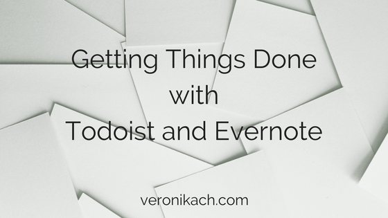 GTD with Todoist, Evernote and Google Calendar | Dr Veronika CH