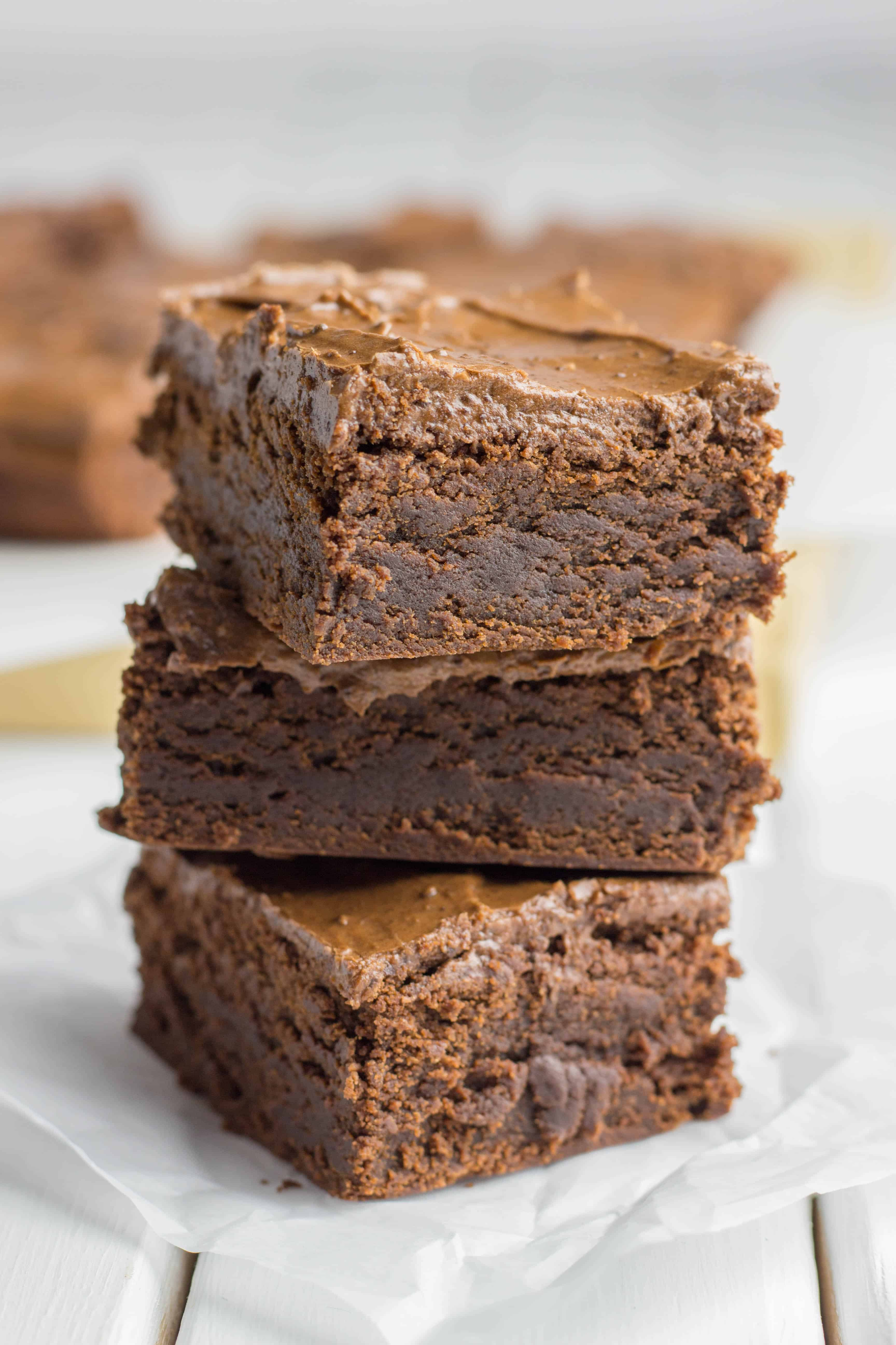 Double Chocolate Chewy Brownies