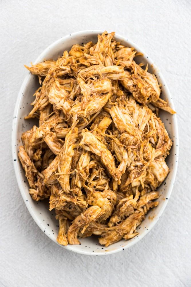 Instant Pot Shredded Bbq Chicken Recipes: Instant Pot BBQ Pulled Chicken