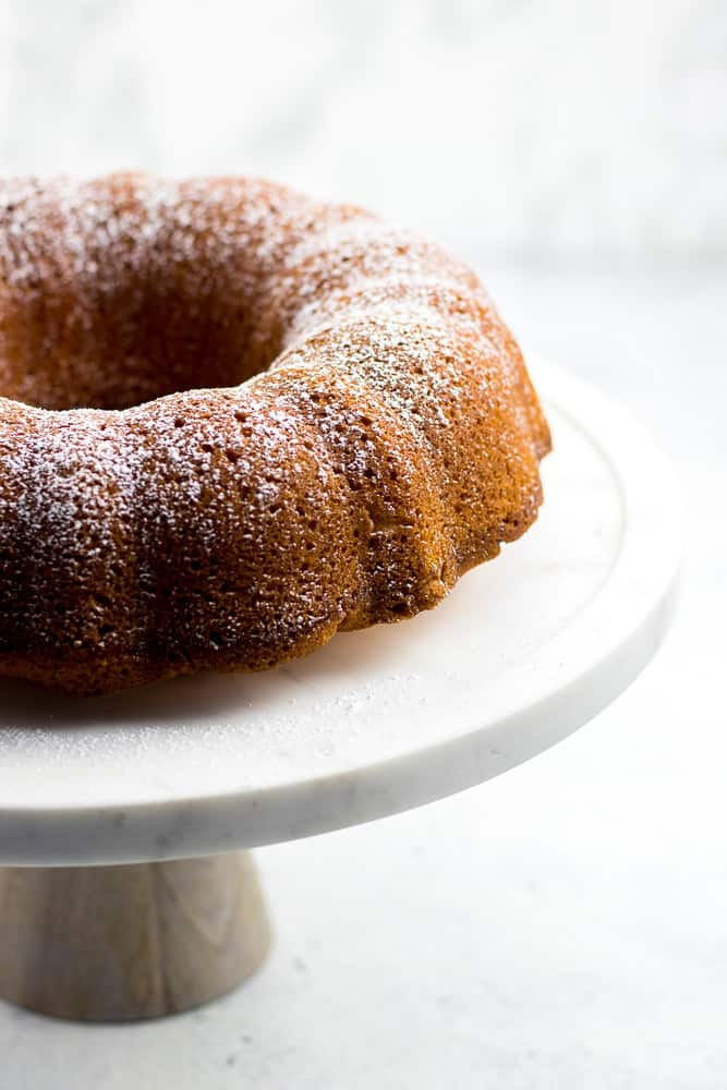 This is the best homemade moist Orange Pound Cake recipe that is easy to make from scratch in a Bundt Pan.