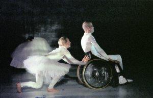 Riikka Kekäläinen and Kalle-Antti Raunu perform