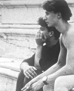 Adoniou and Paasonen, Athens 1990. Photo credit: Holger Badekow
