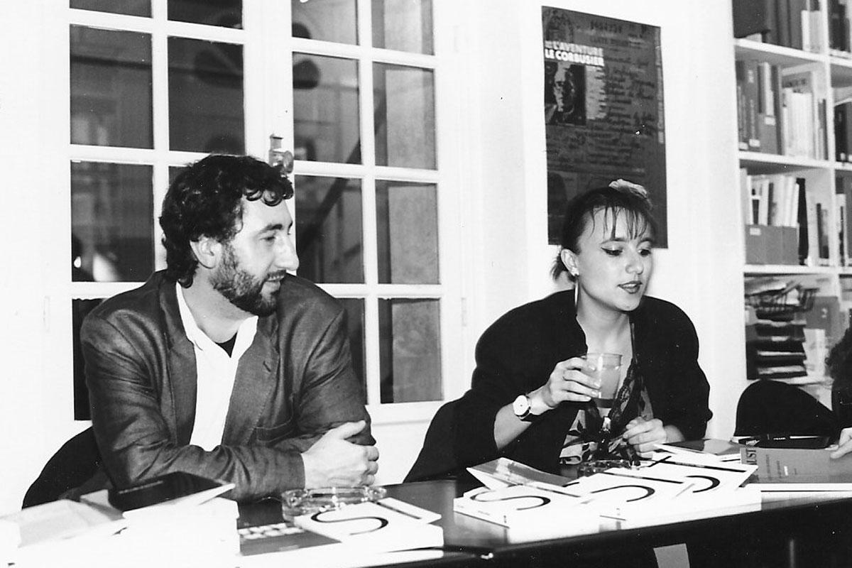 Véronique Emmenegger et Noël Blandin