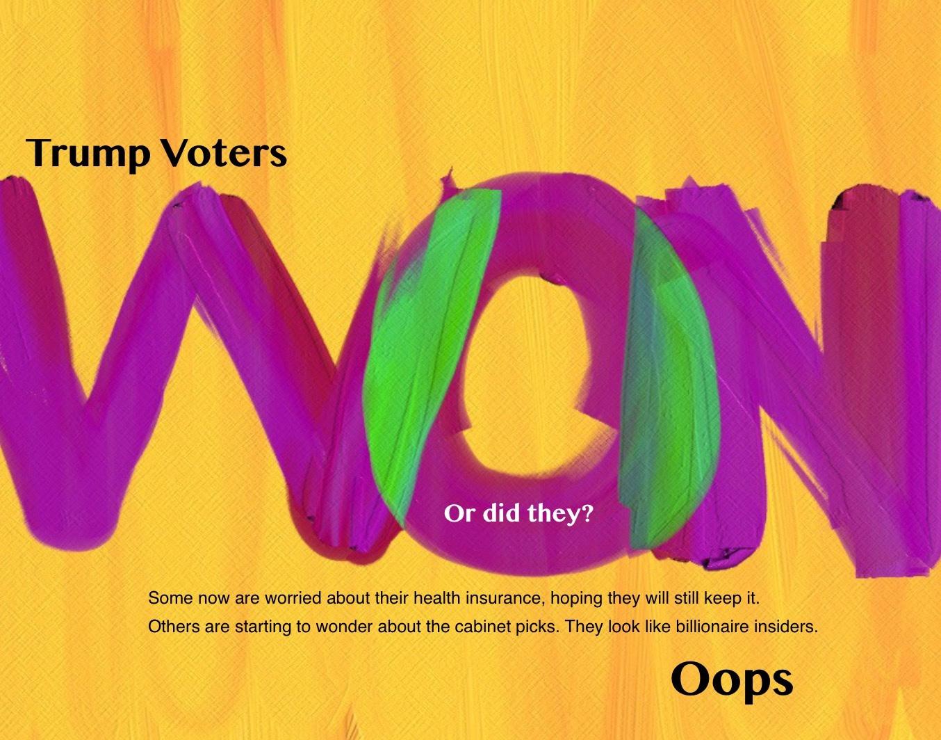 Trump Voters Won