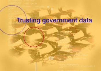 Trusting Government Data