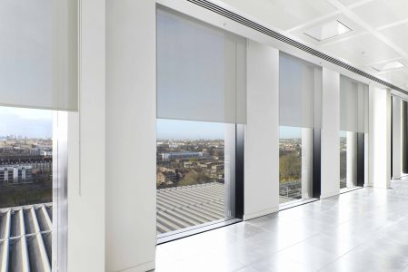 Rollo SilverScreen white 3 blinds