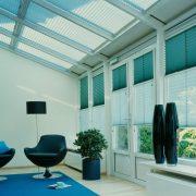 cortina plisada techo twin casa verosol