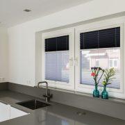 cortina plisada twin verosol cocina