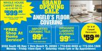 Angelo's Flooring Big Sale On All Floors!