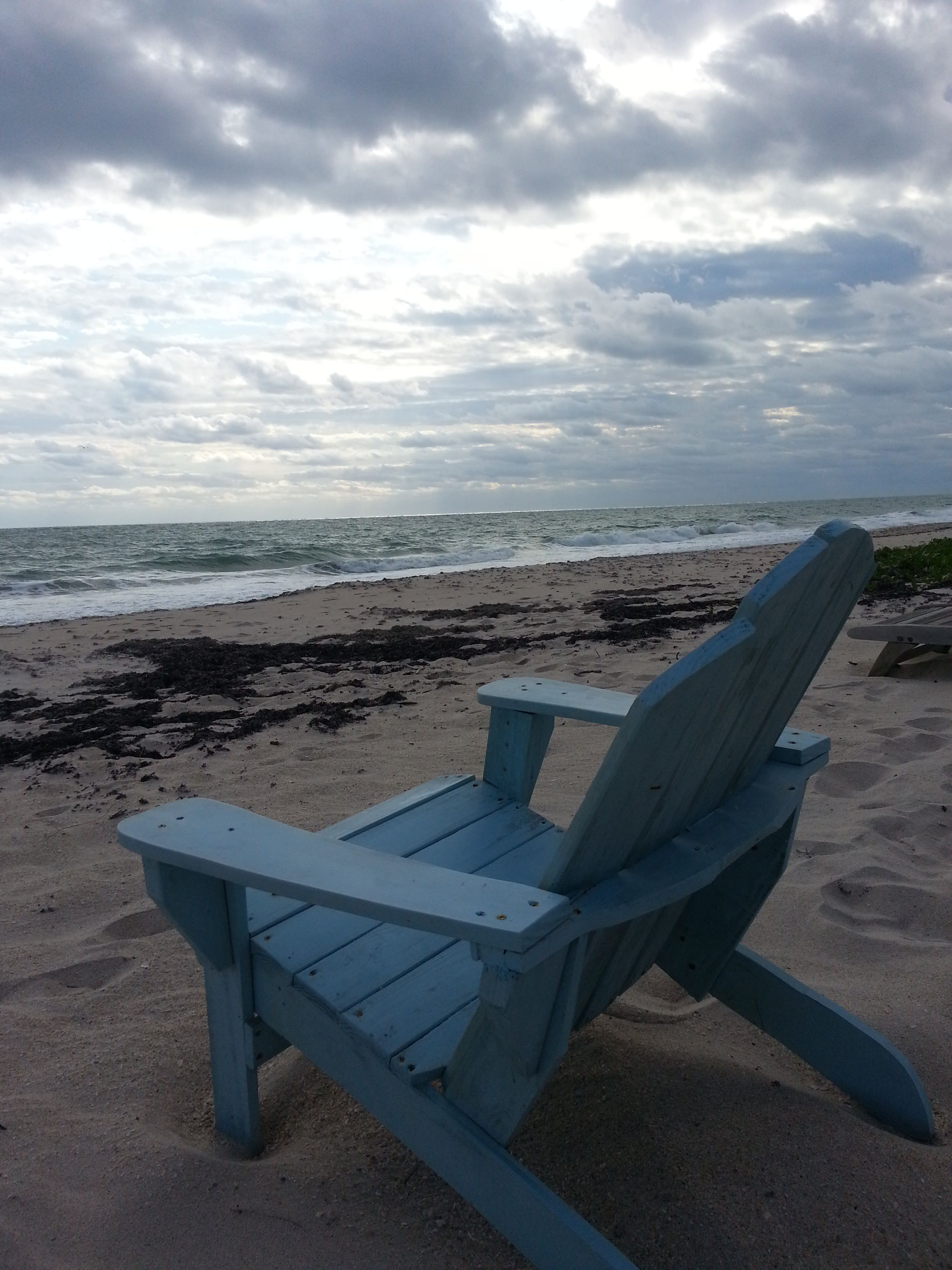 old blue chair yellow and grey dining chairs vero 39s beach lifestyle photo contest