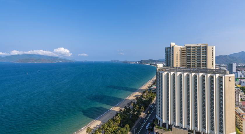 Het Intercontinental hotel in Nha Trang
