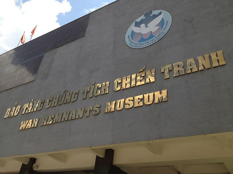 Het War Remnants Museum in Ho Chi Minh City