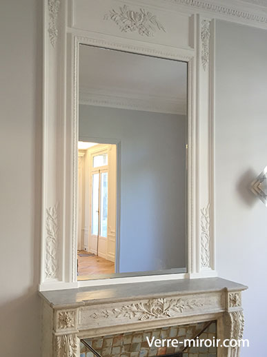 miroir pour cheminee