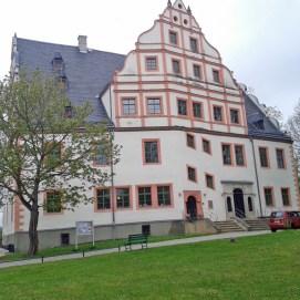 Renaissanceschloss Ponitz in Thüringen.