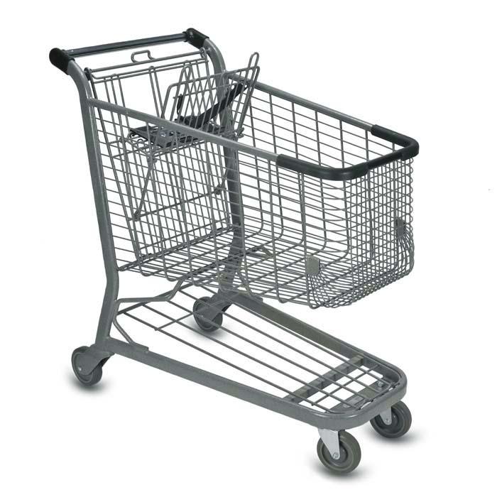 E Series 160 Liter Standard Wire Shopping Cart