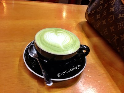 Green tea latte = best invention ever