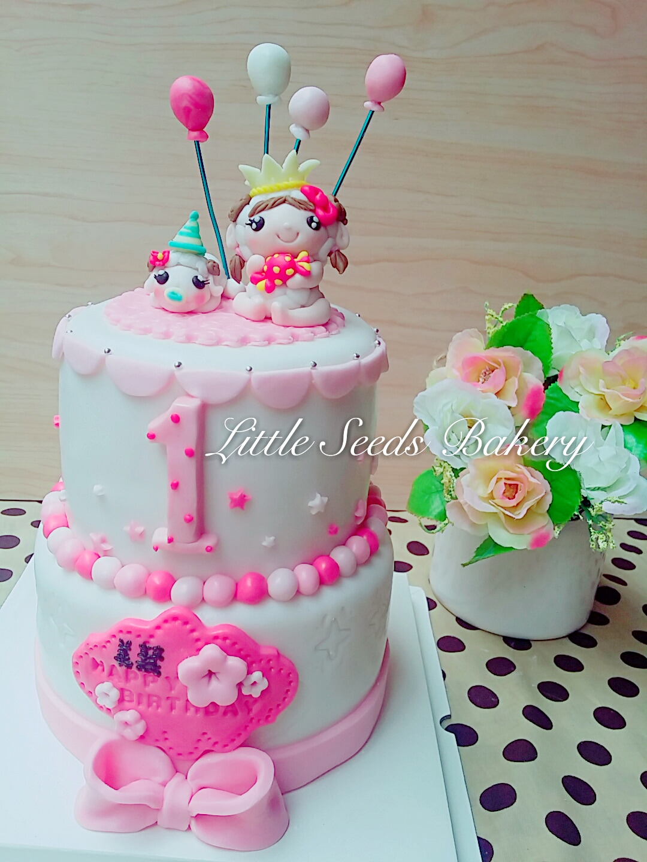 翻糖造型蛋糕 - VersaillesGardenCookies 凡爾賽花園餅乾