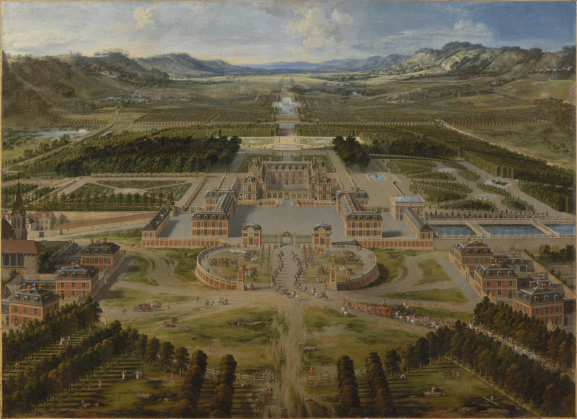Resultado de imagen para versailles garden old