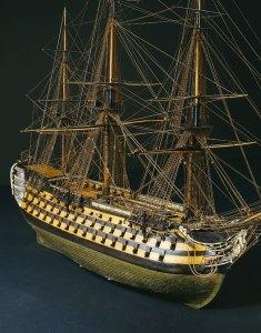 L'Océan, vaisseau de 118 canons, vue tribord