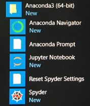 Anaconda Prompt From Windows Start Menu