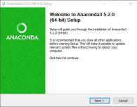 Anaconda3 5.2.0 (64-bit) Setup