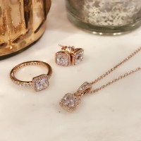 pandora earrings rose gold pandoraonline
