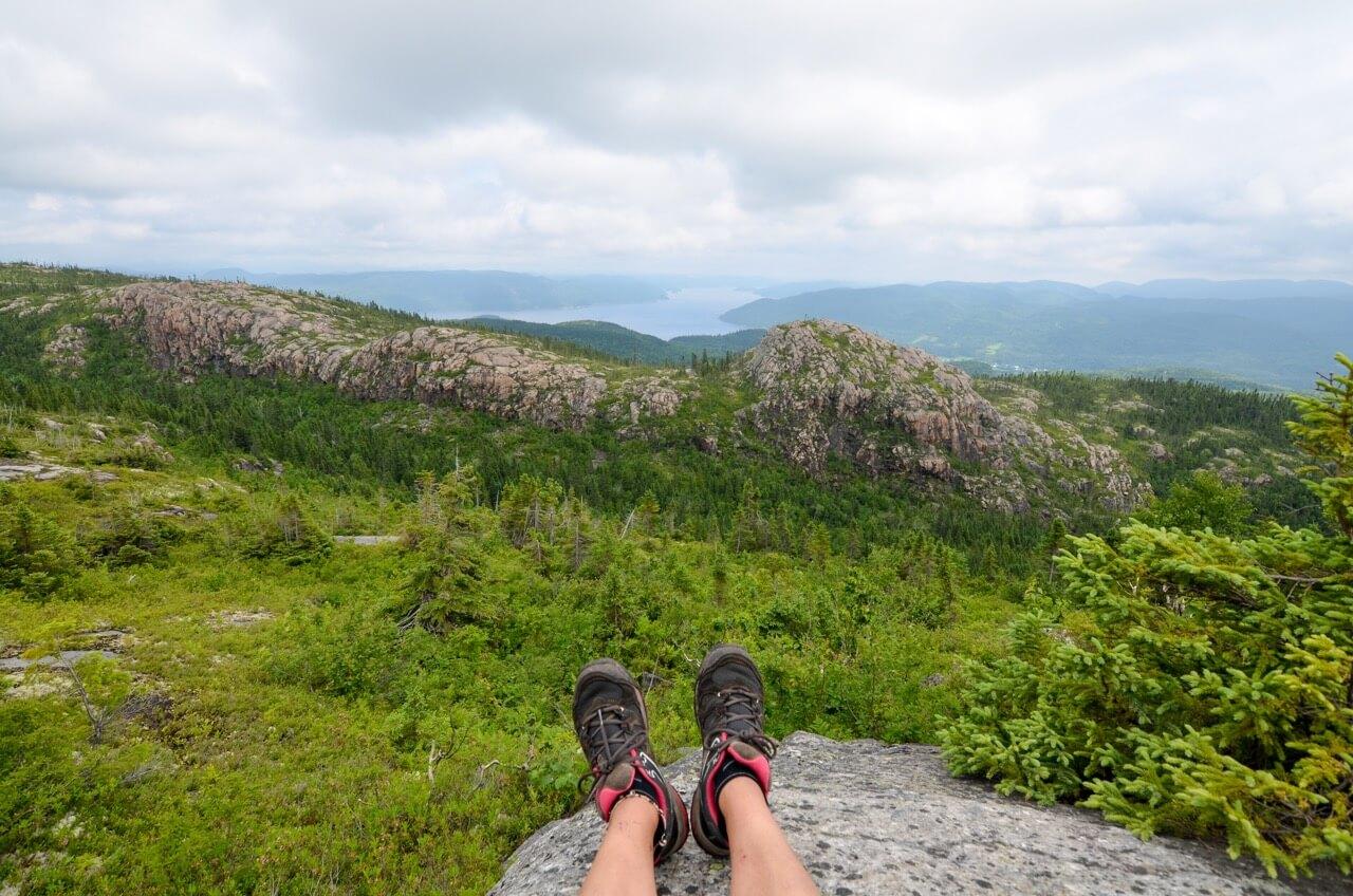 Image illustrant l'article sur le sentier de la Montagne Blanche au parc national du Fjord-du-Saguenay