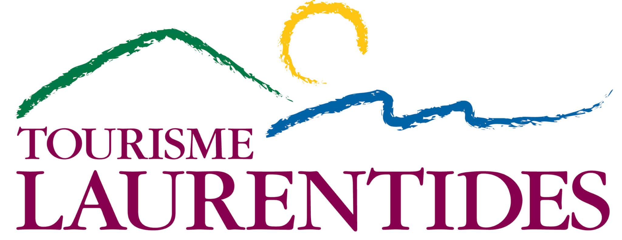 Logo de Tourisme Laurentides avec qui nous avons collaboré à quelques reprises
