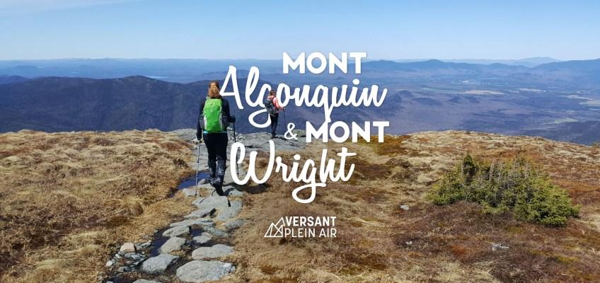Mont Algonquin et Mont Wright