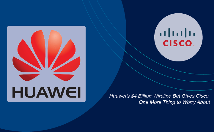 Huawei vs. Cisco