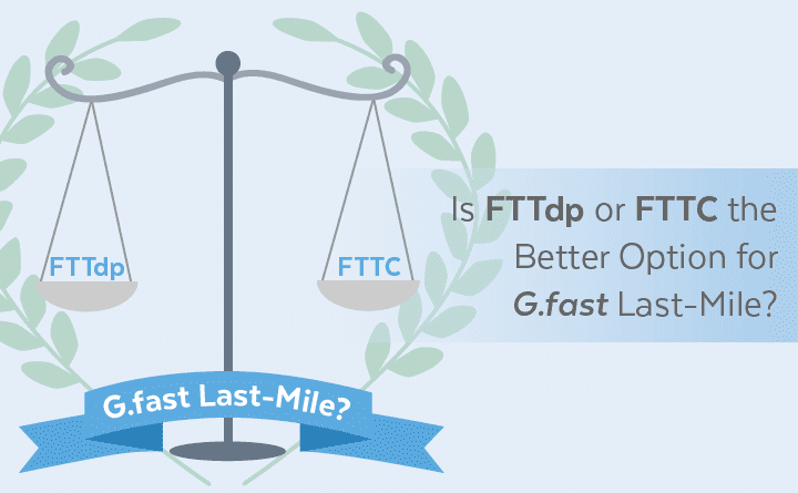 Is FTTdp or FTTC the Better Option for G.fast Last-Mile?