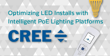 Optimizing LED Installs with Intelligent PoE Lighting Platforms