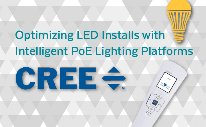 Optimizing LED Installs with Intelligent PoE Lighting Platforms