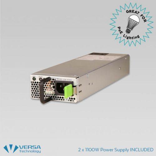 24-Port Managed GbE UPoE Switch | VX-GPU2626 | Versa Technology