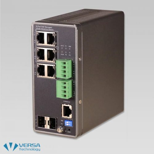 VX-IGPU-2708A Industrial UPoE Switch