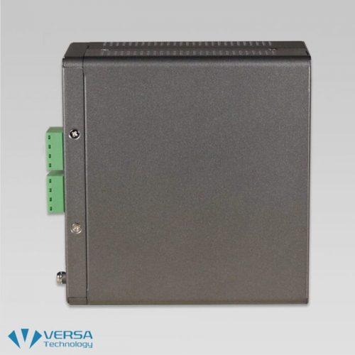VX-IGPU-2708A Industrial UPoE Switch Side