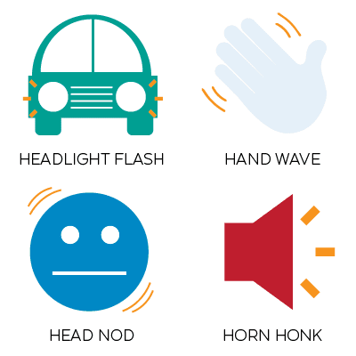Non-verbal Driving Signals