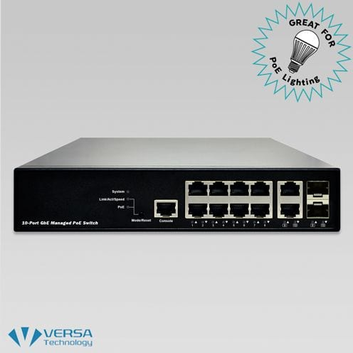 VX-GPU2610 PoE Switch