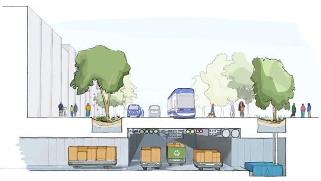 Quayside Sensing City Sidewalk labw