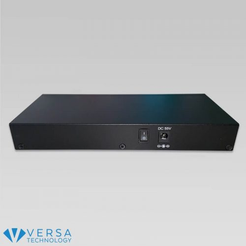 VX-GPH8245 4-Port PoE Switch Back