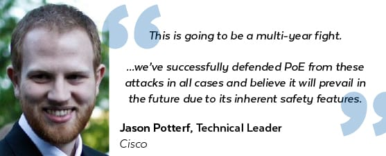 Jason Potterf, Cisco Quote